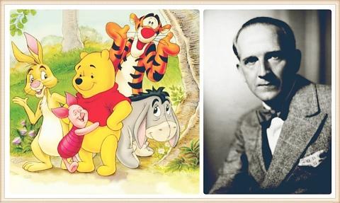 Алън Милн, авторът на Мечо Пух, е роден на 18 януари 1882 г. :: е - Здраве  и култура
