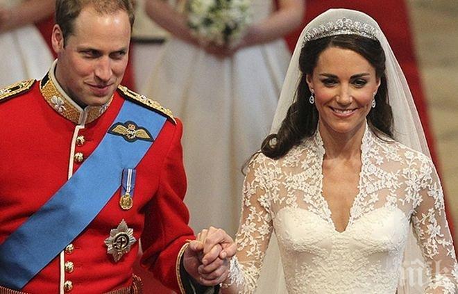 Сватбата на Кейт Мидълтън и принц Уилям
