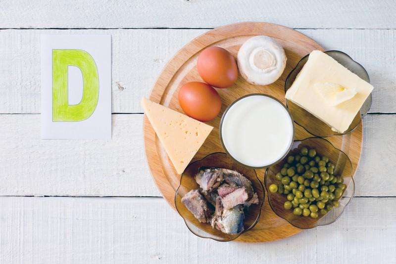 Витамин Д и храна