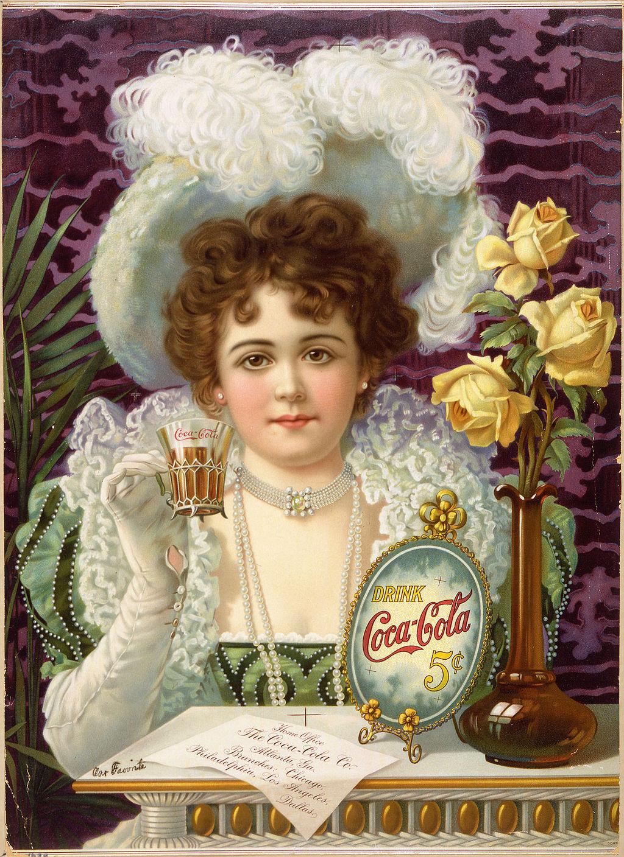 Реклама на Кока Кола от началото на 20 век