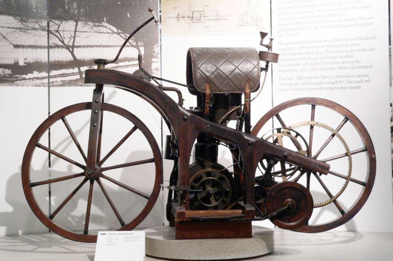 Мотоциклетът на Даймлер