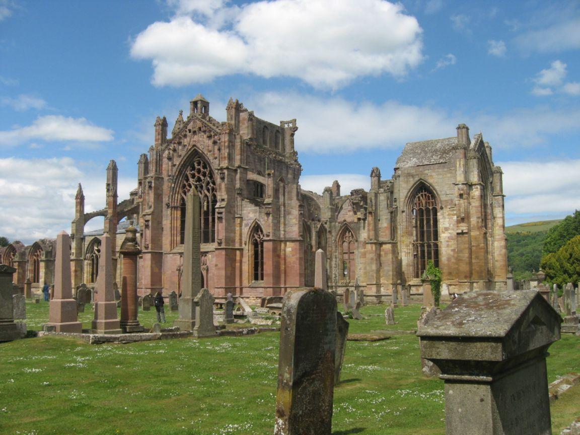 Sweet Heart Abbey в Шотландия