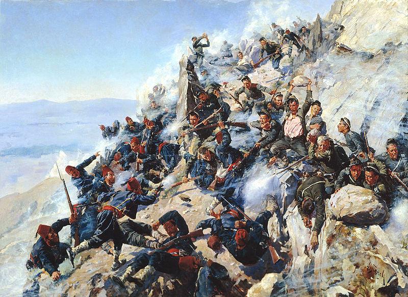 Боеве при Шипка 1877 .